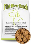 Flint River Ranch Lamb Meal & Millet Premium Dog Food - Formulated for Dogs with Food Allergies or Sensitivities
